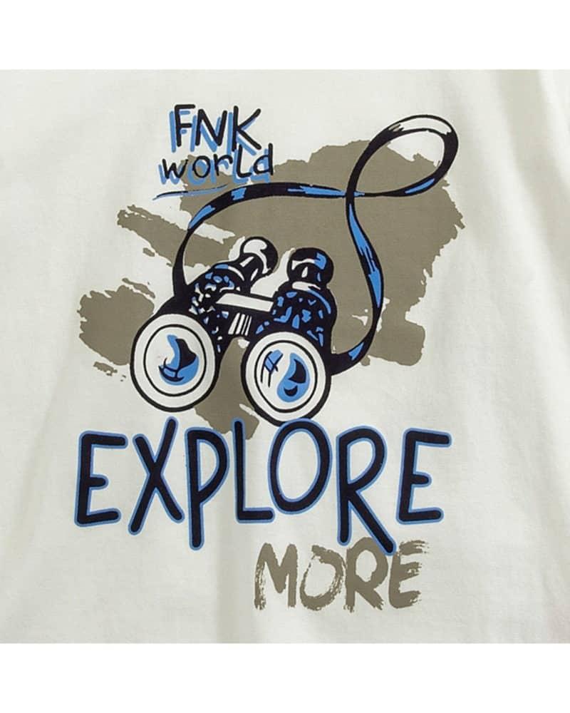 """Μπλούζα """"Explore More"""""""